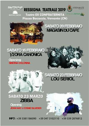 Rasssegna Teatrale Vernante 2019